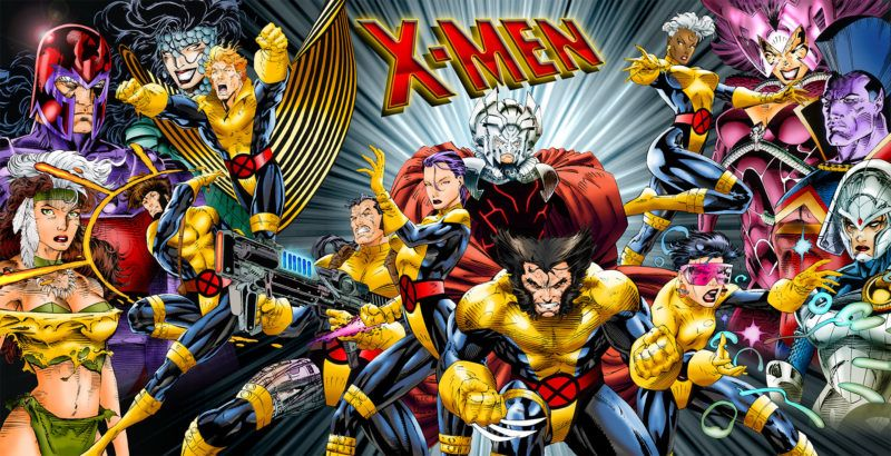 Fox Marvel Working Together On Another X Men Tv Show Jim Lee Art Comic Art Comics