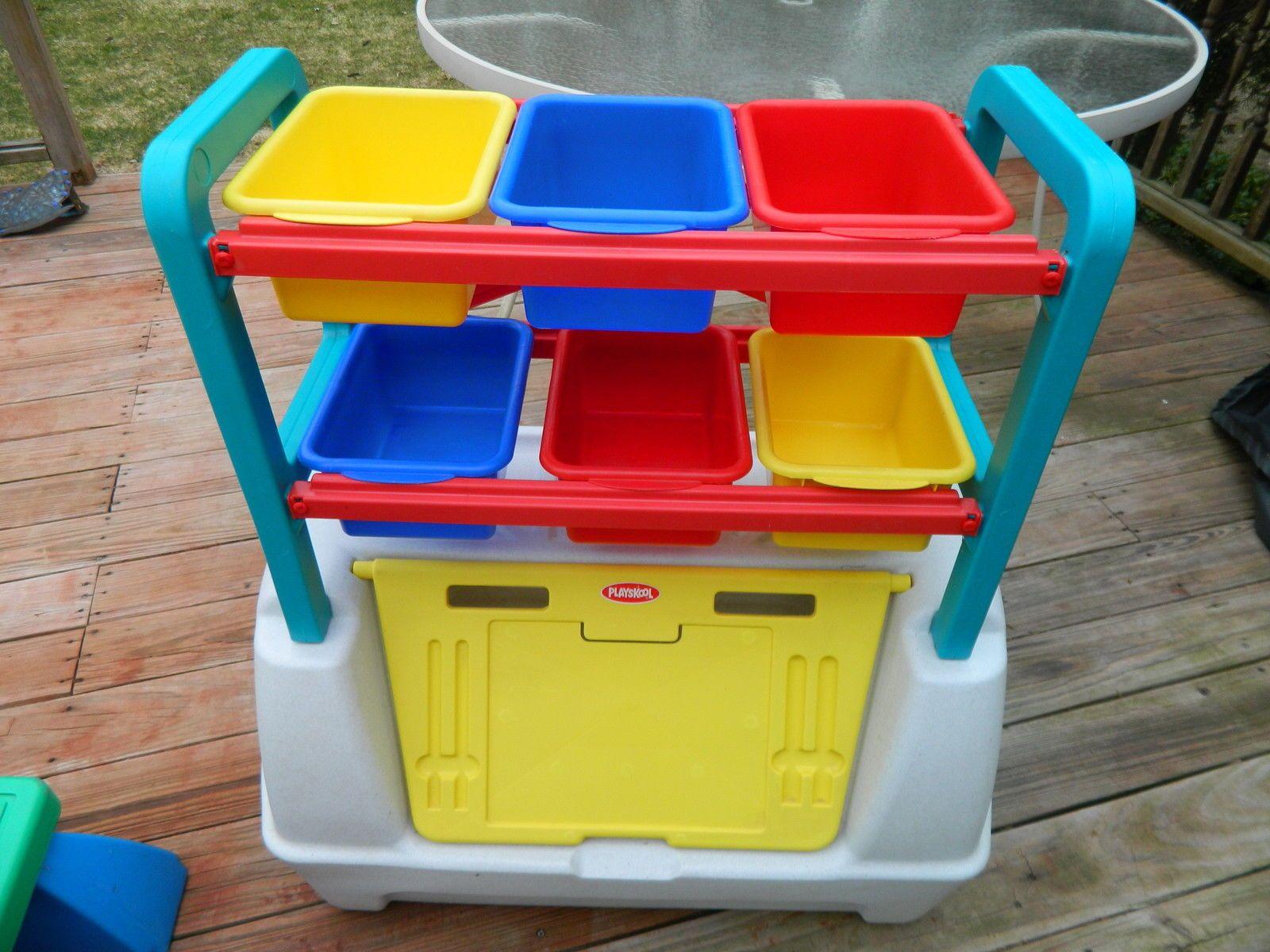 Playskool Toy Chest Storage Bins