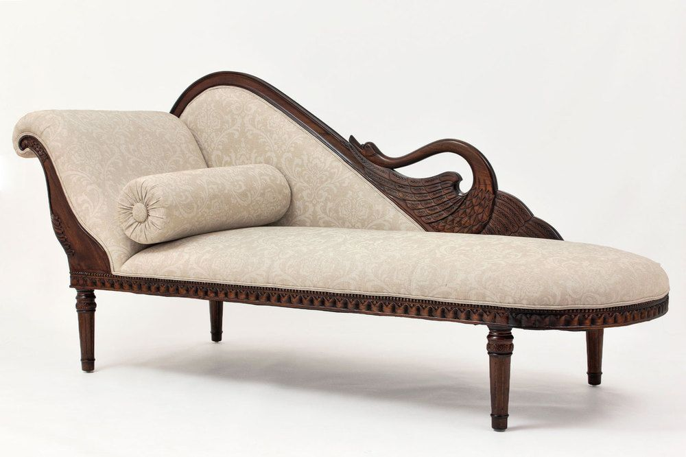 Empire Swan Chaise Lounge Chaise Lounge Sofa Chaise Lounge Upholstered Chaise Lounge