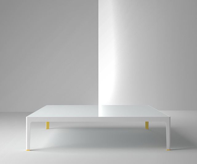A really cool coffee table by coalesse a division of for Table design with div