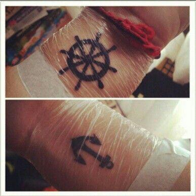 Ancla Timon Tattoo Ink Skin Nice Tatuajes Timones