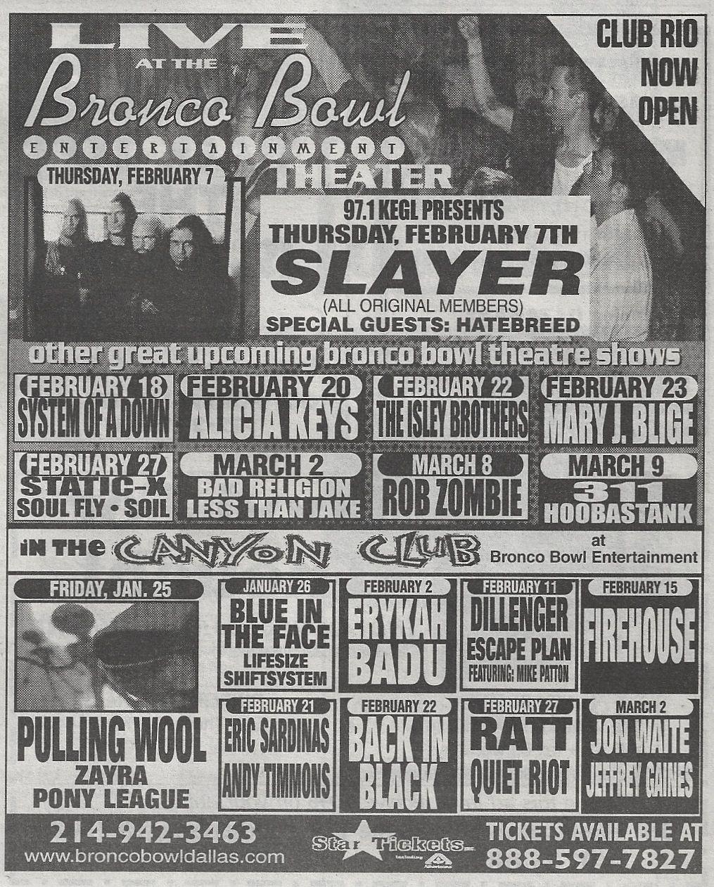 Bronco Bowl Print Ad In Dallas Observer