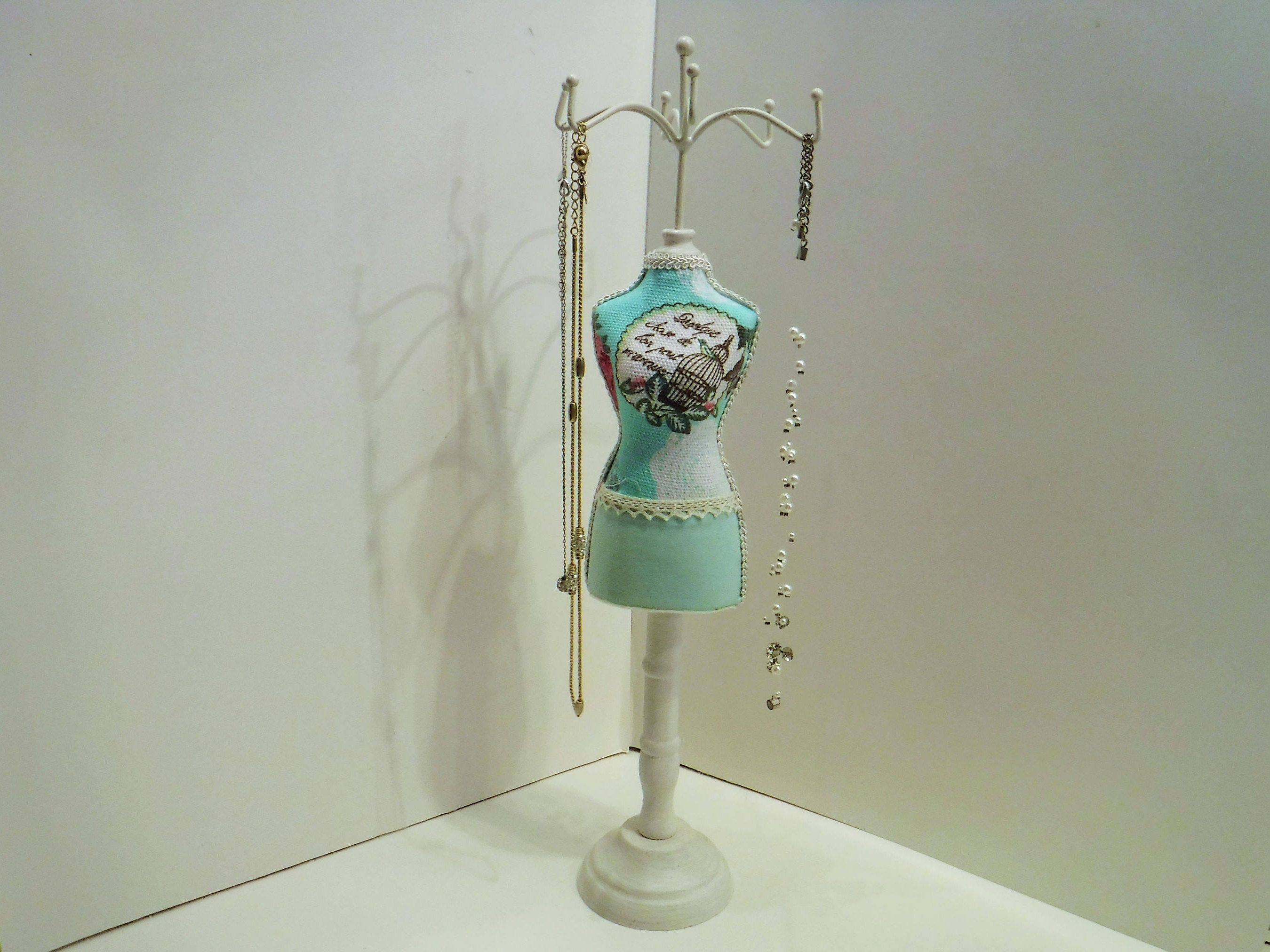 Jewelry Organizer Jewelry Dress Stand Mannequin Jewelry Stand
