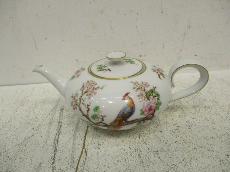 H G Heinrich Anmut Asian Style Ceramic Teapot Tea Pots Ceramic Teapots German Teapot