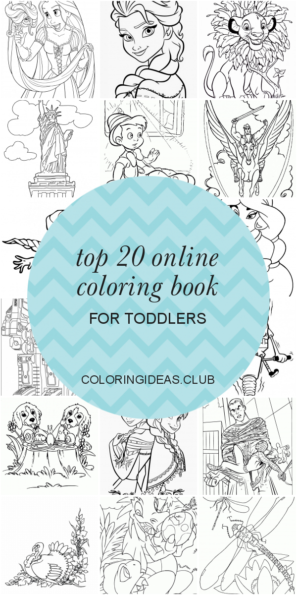 Top 20 Online Coloring Book For Toddlers Coloring Pages For Girls, Toddler  Coloring Book, Online Coloring