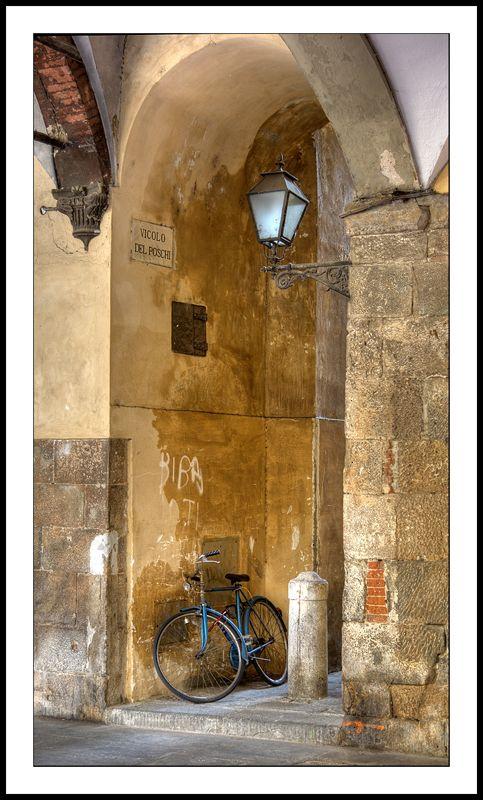 A Pisa scene, by Gary Martin