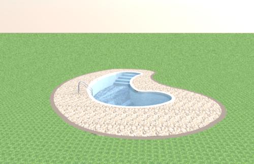 progetto: piscina interrata da giardino!