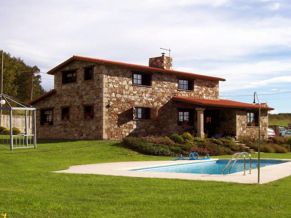Publicaciones sobre construcciones de casas r sticas en galicia y asturias casas pinterest - Modelos de casas de piedra ...