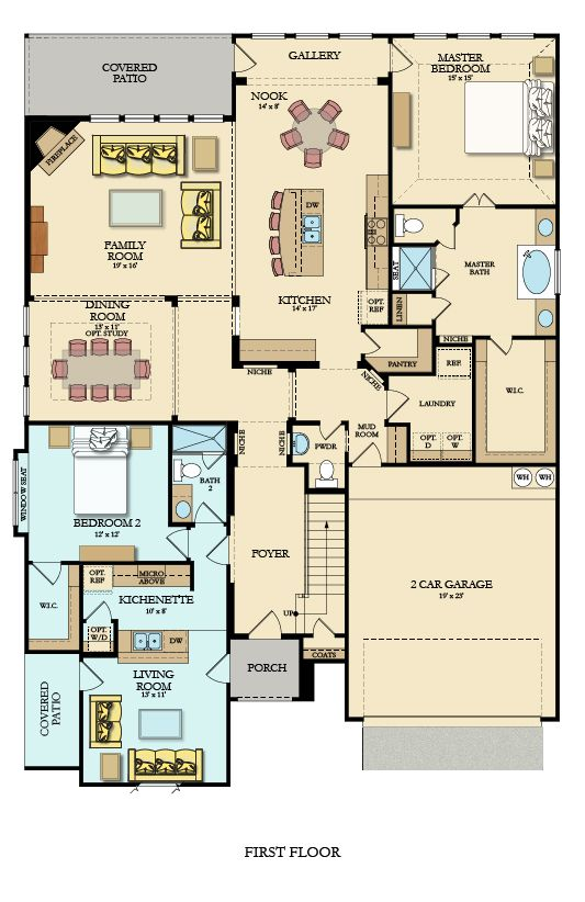 497n Freedom New Home Plan In Crown Ridge By Lennar