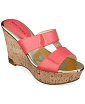 Marc Fisher Willian Platform Wedge Sandals