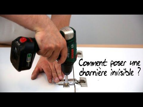 Comment Poser Une Charniere Invisible De Meuble Idee Diy Door