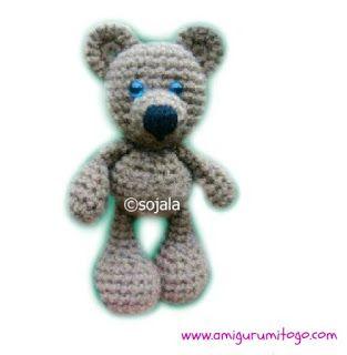 Little Bigfoot Bear Free Crochet Pattern