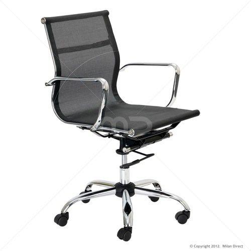 milan direct replica eames executive office. Mesh Executive Office Chair - Eames Reproduction | $179.00 Milan Direct Replica T