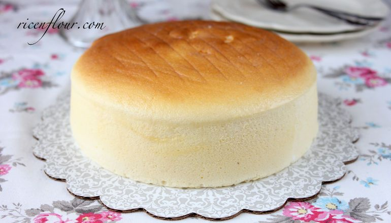 Japanese Jiggly Cake Recipes: [VIDEO] Authentic Japanese Cotton Cheesecake Recipe