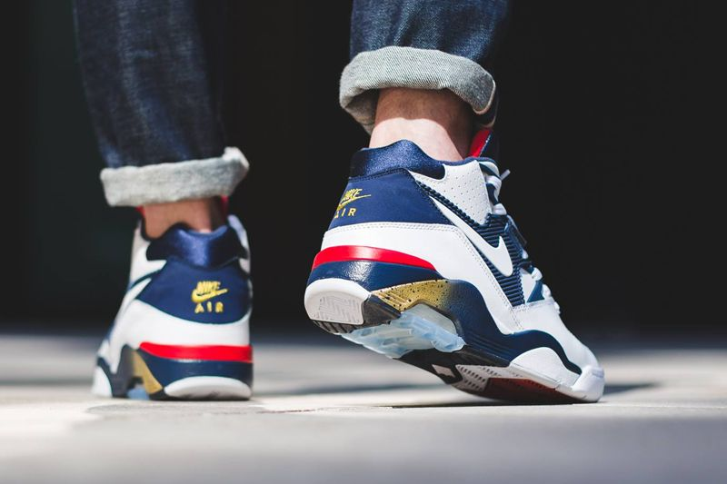 An On-Feet Look At The Upcomng Nike Air Force 180 Olympic  3aeaf4529