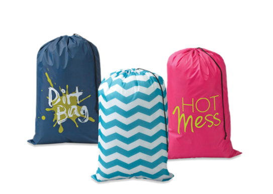 Dorm Room Checklist Laundry Bags  BackToSchool