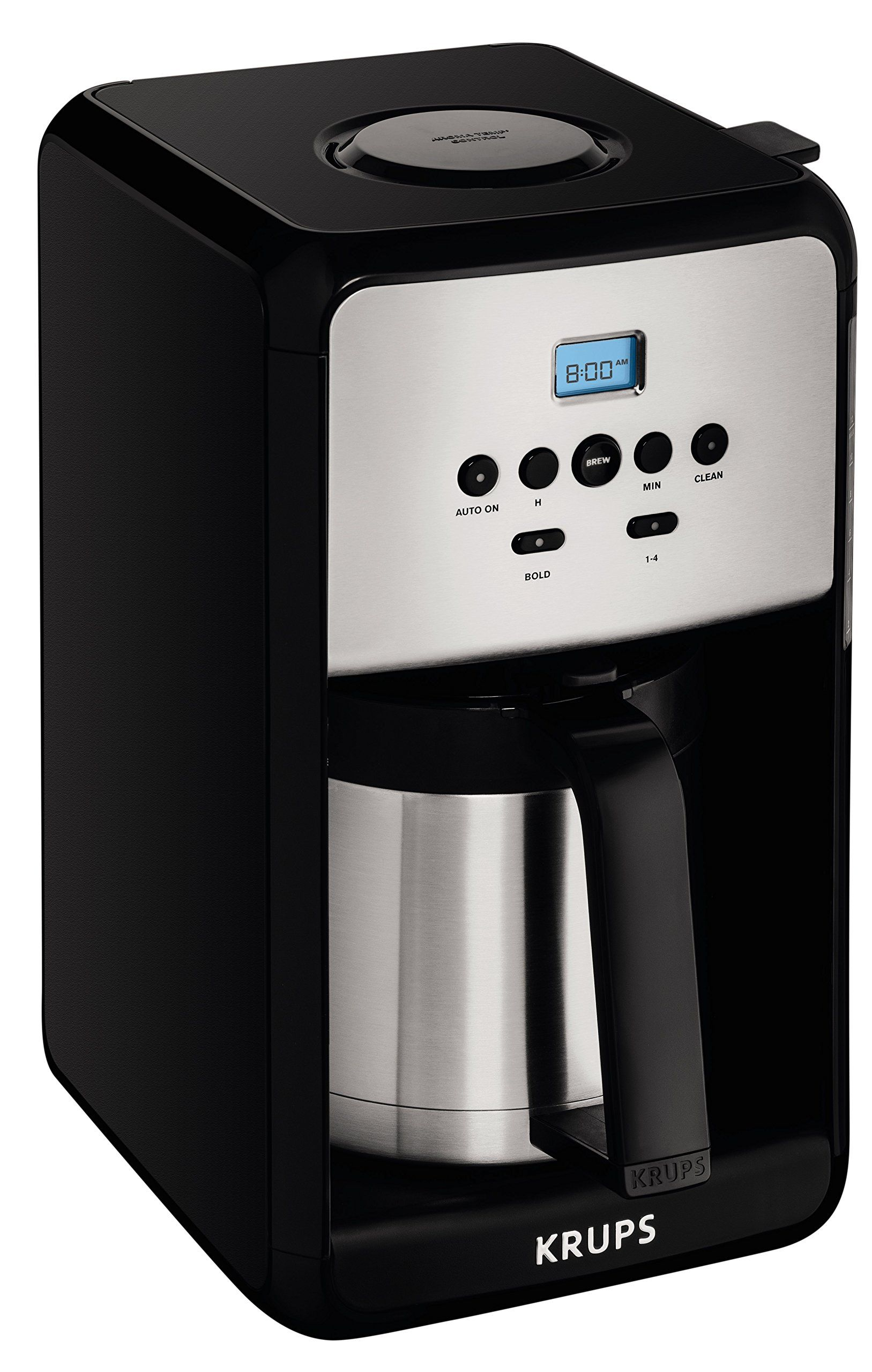 Krups Et351 Savoy Programmable Thermal Stainless Steel Filter Coffee Maker
