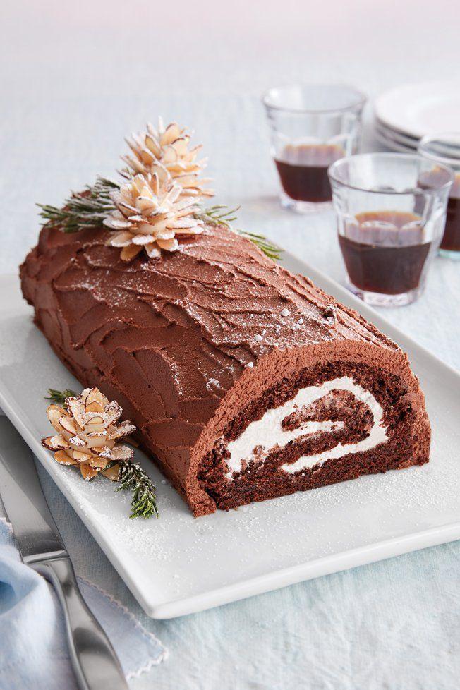 Bûche de Noël   Holiday baking, Christmas baking, Savoury cake