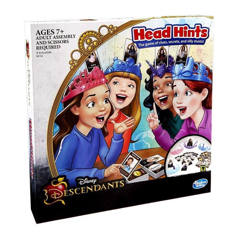Disney descendants head hints board game disney