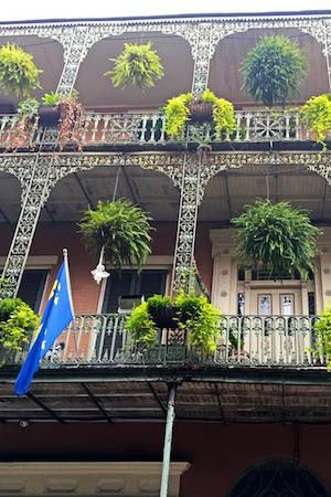 It's always a beautiful weekend to stroll the French Quarter!
