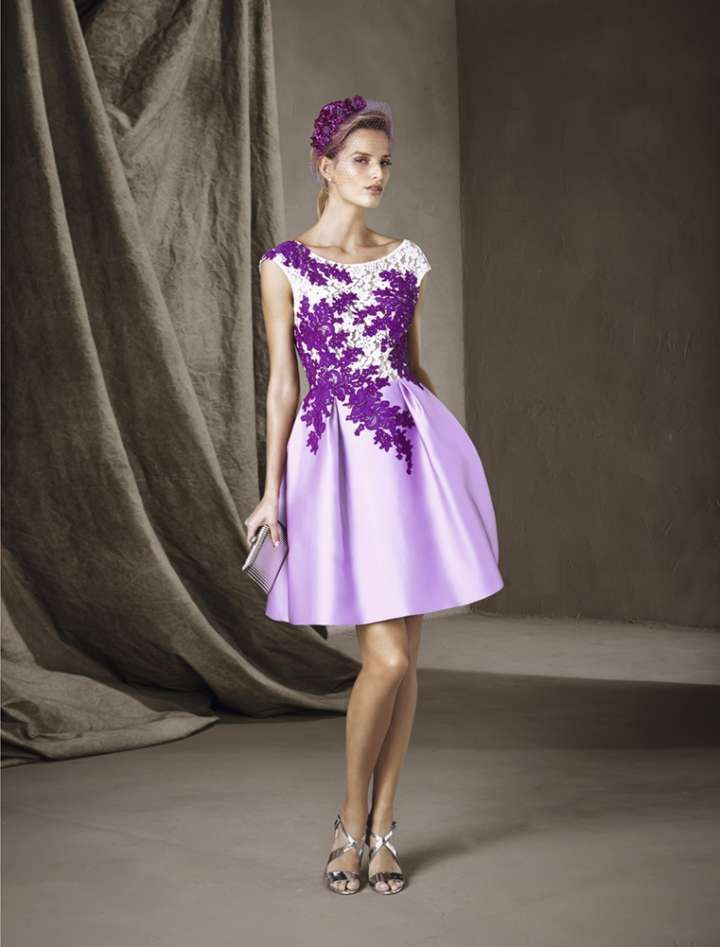 Lujo Vestidos De Dama De Locos Ideas Ornamento Elaboración ...