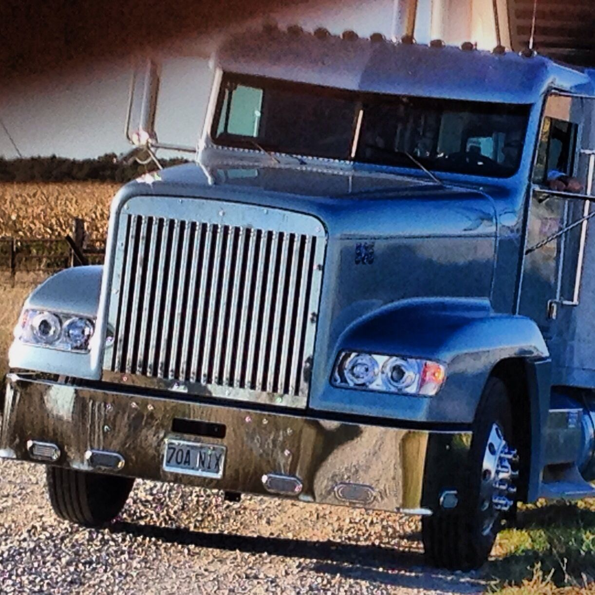 Chrome Bumpers For Fld 120 : Freightliner fld project custom