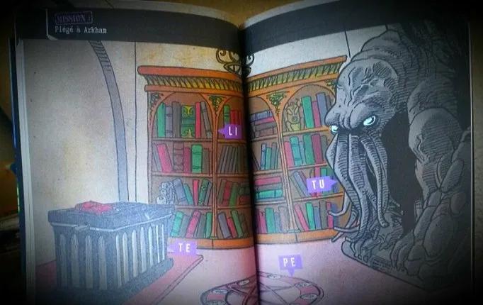 Escape Game Poche Piege A Arkham Livres Jeux Jeux De Logique Jeux Livre