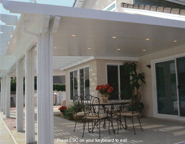 Attractive Vinyl Patio Covers | Enhancing Your Outdoor Experience With  Maintenance Free Patio Covers