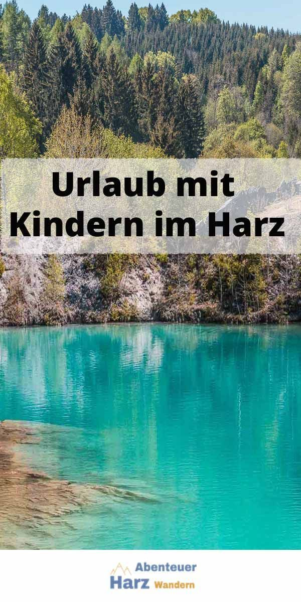 Photo of Blue lake in the Harz