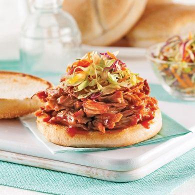porc effiloch la sauce barbecue recette pratico pratique pork ethnic recipes et recipes. Black Bedroom Furniture Sets. Home Design Ideas