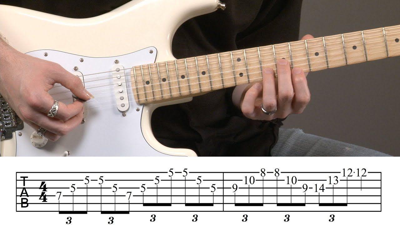 Intermediate Guitar Arpeggios Lesson YouTube in 2020