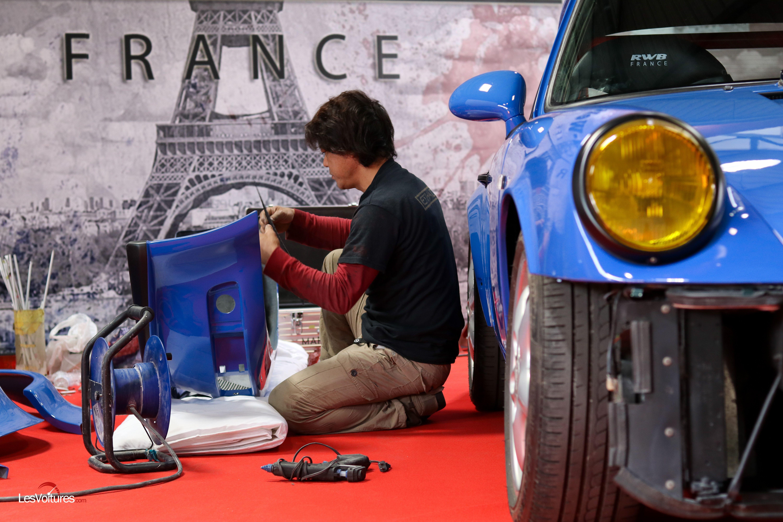 Porsche RWB Nakai San débarque en France, les photos