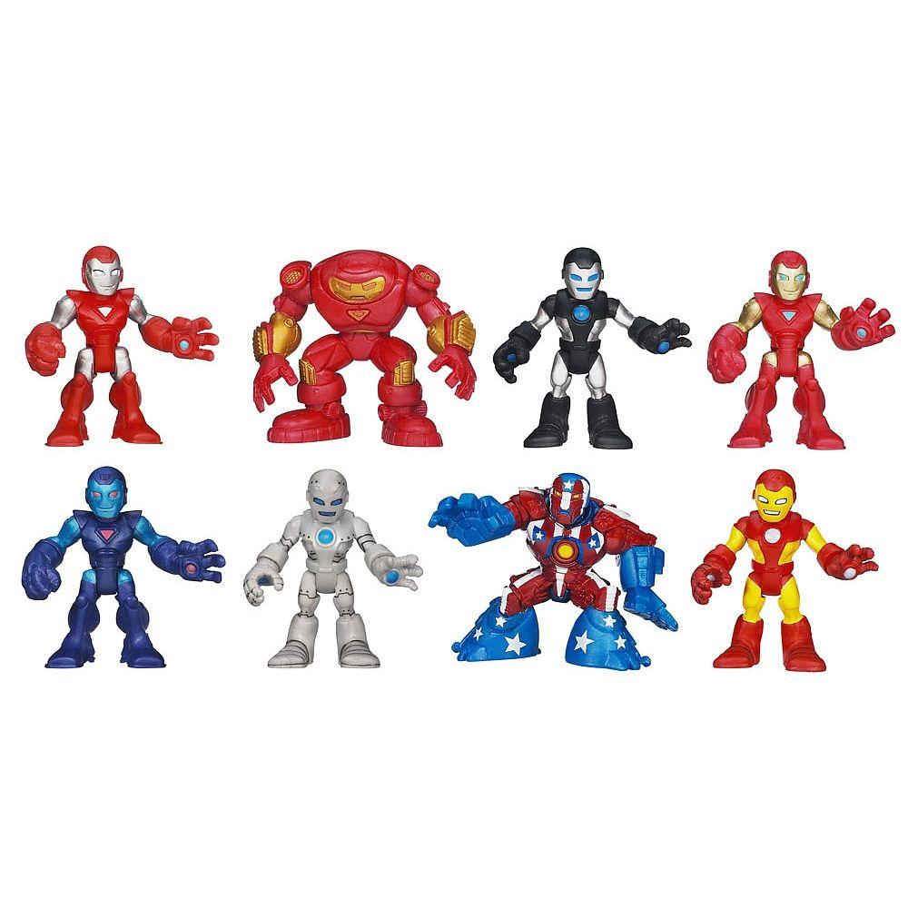 Playskool Heroes Marvel Iron Man Adventures Iron Man Hall Of Armor Pack English Edition Marvel Iron Man Iron Man Superhero Toys