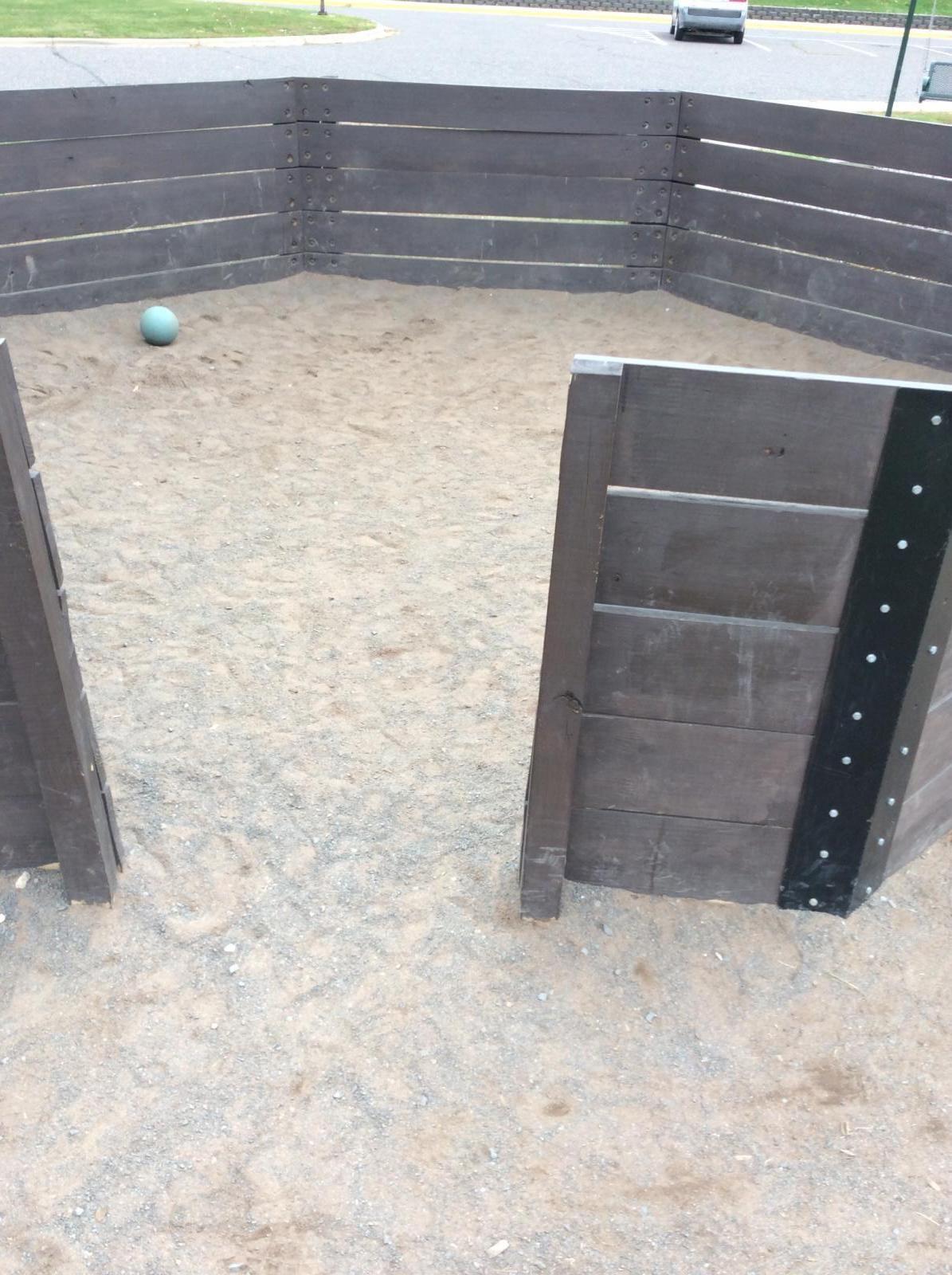 StayLock Tile Perforated Black Plastic Flooring