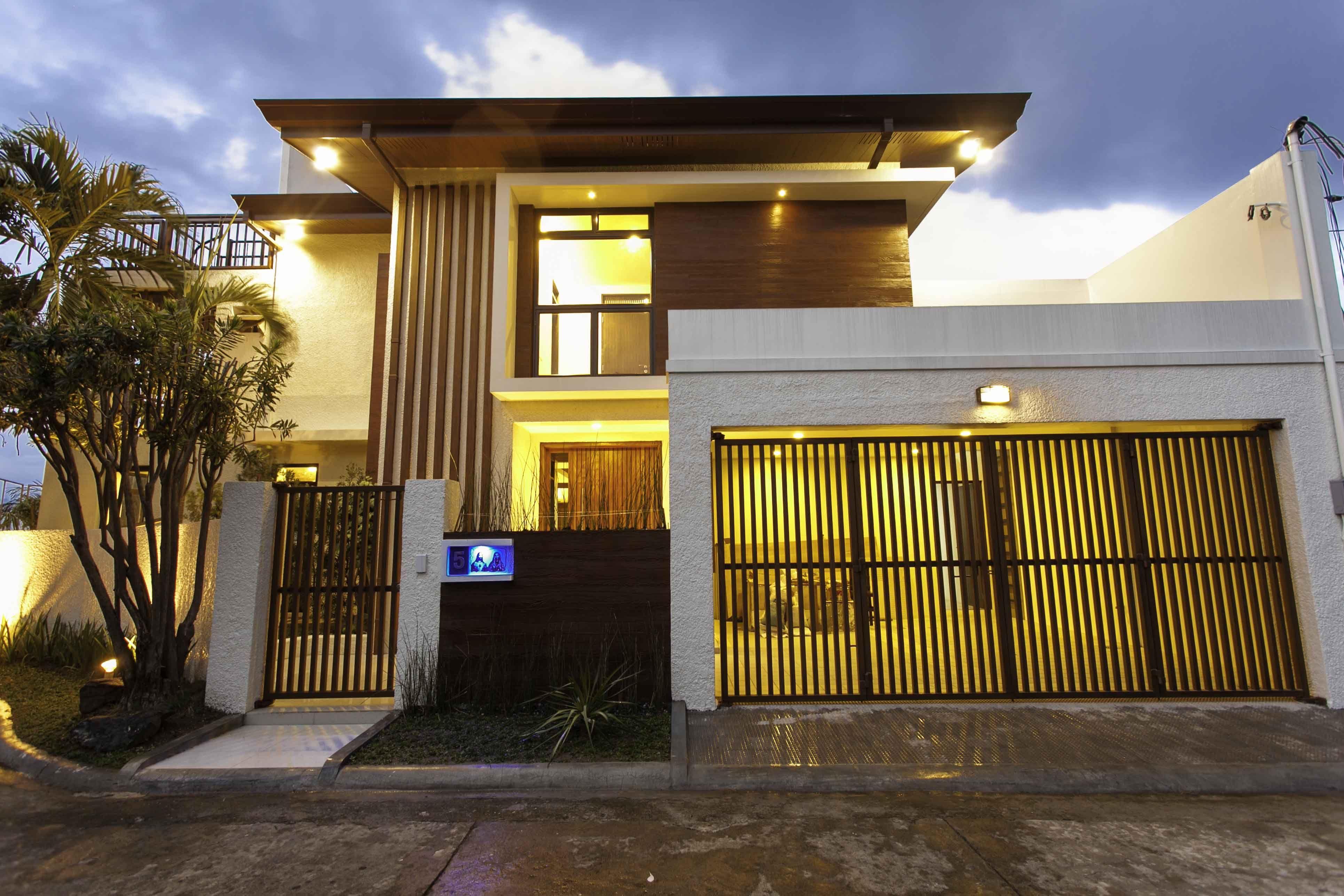 Asian Contemporary House Modern Zen House Bungalow House