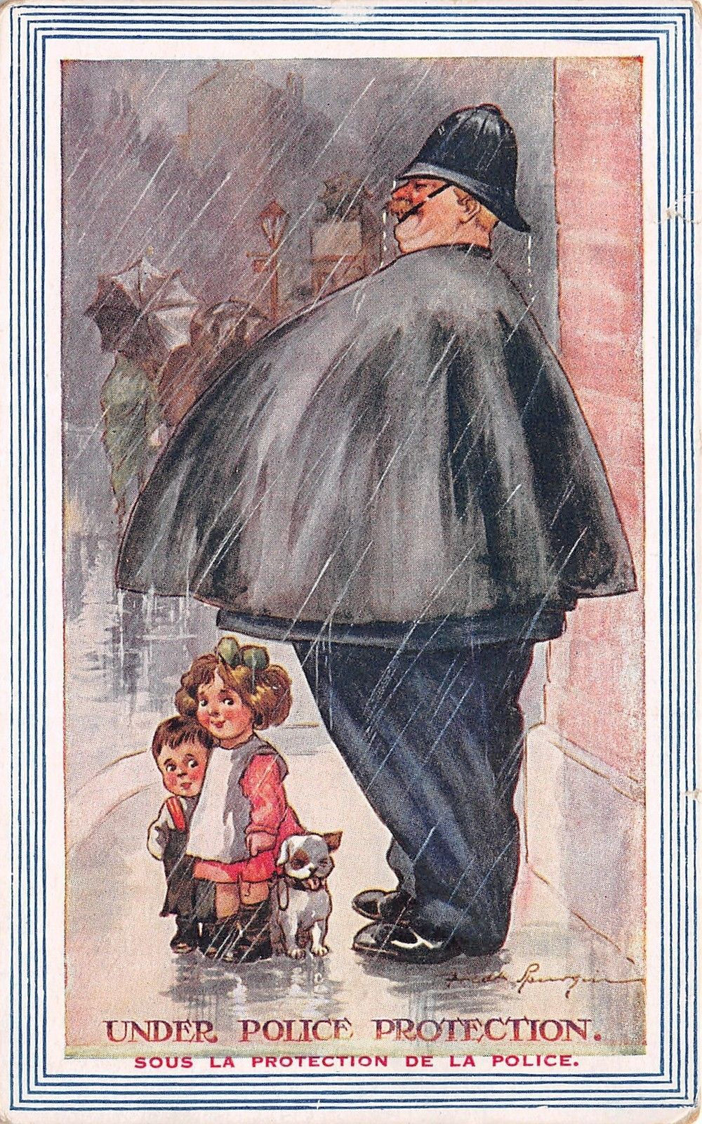 Image result for old paintings and illustrations of children and rain Pinterest