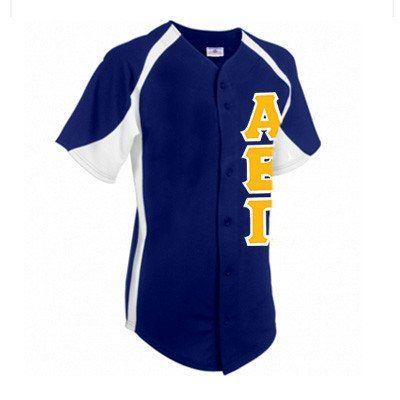 Fraternity Clutch Full Button Baseball Jersey Teamwork 1231b Twill Sport Outfits Baseball Jerseys Spirit Football Jersey