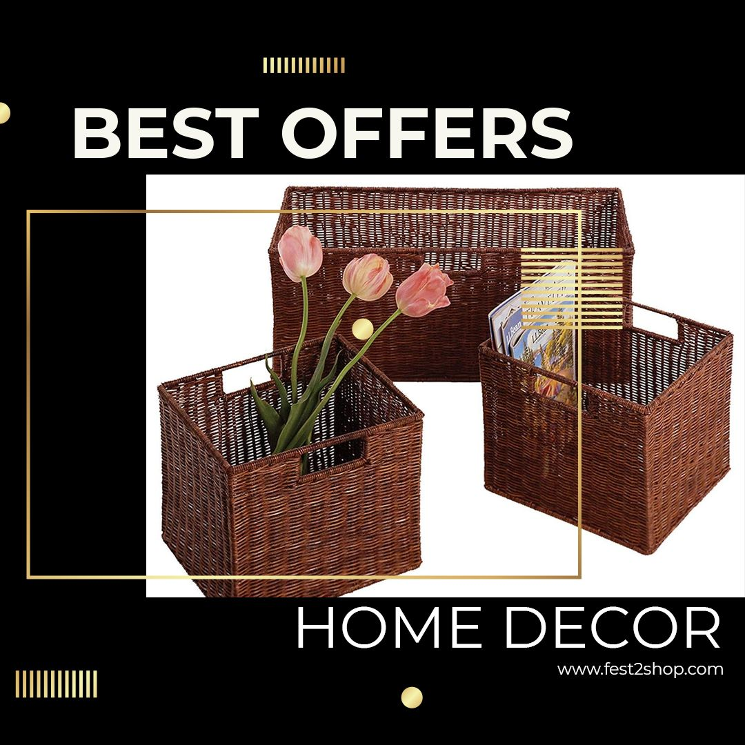 Best to decorate your house and a wooden basket with natural decoration #fest2shop #interiorinspiration #furniture #4dconcept #stylish #naturalbasket #basket #uniquedesign #stylishlook #interiordesign #interiordesire #modernhome #houseenvy #interiorlovers #topstylefiles #finditstyleit