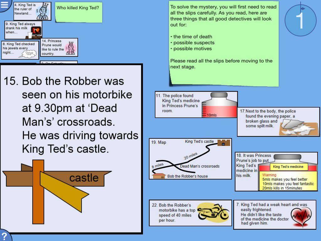 Who Killed King Ted? (Maths) | Mathematics education ...
