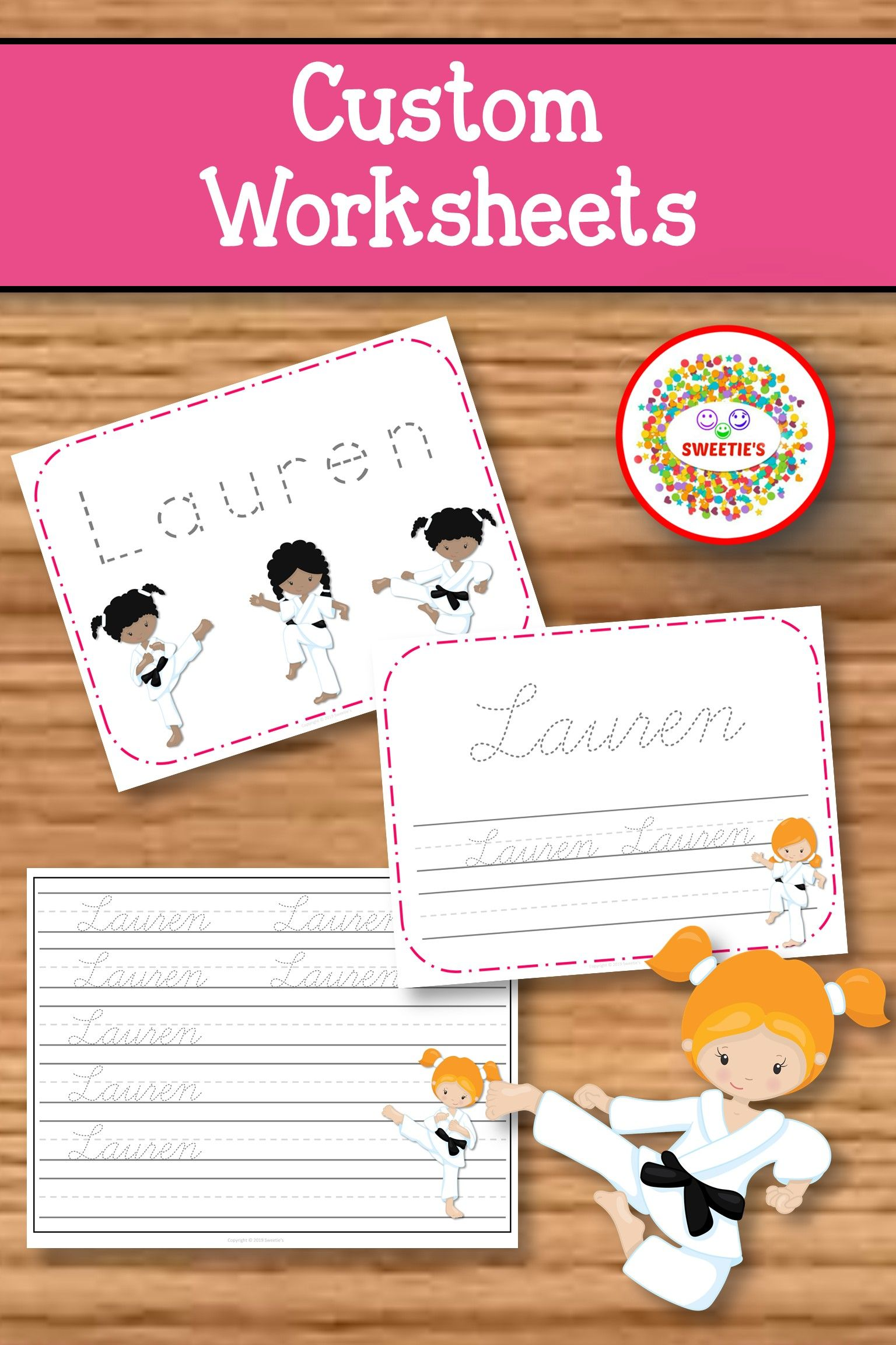 Name Tracing Handwriting Worksheet Personalized Name Etsy Kindergarten Blogs Elementary Learning Learn To Spell [ 2304 x 1536 Pixel ]