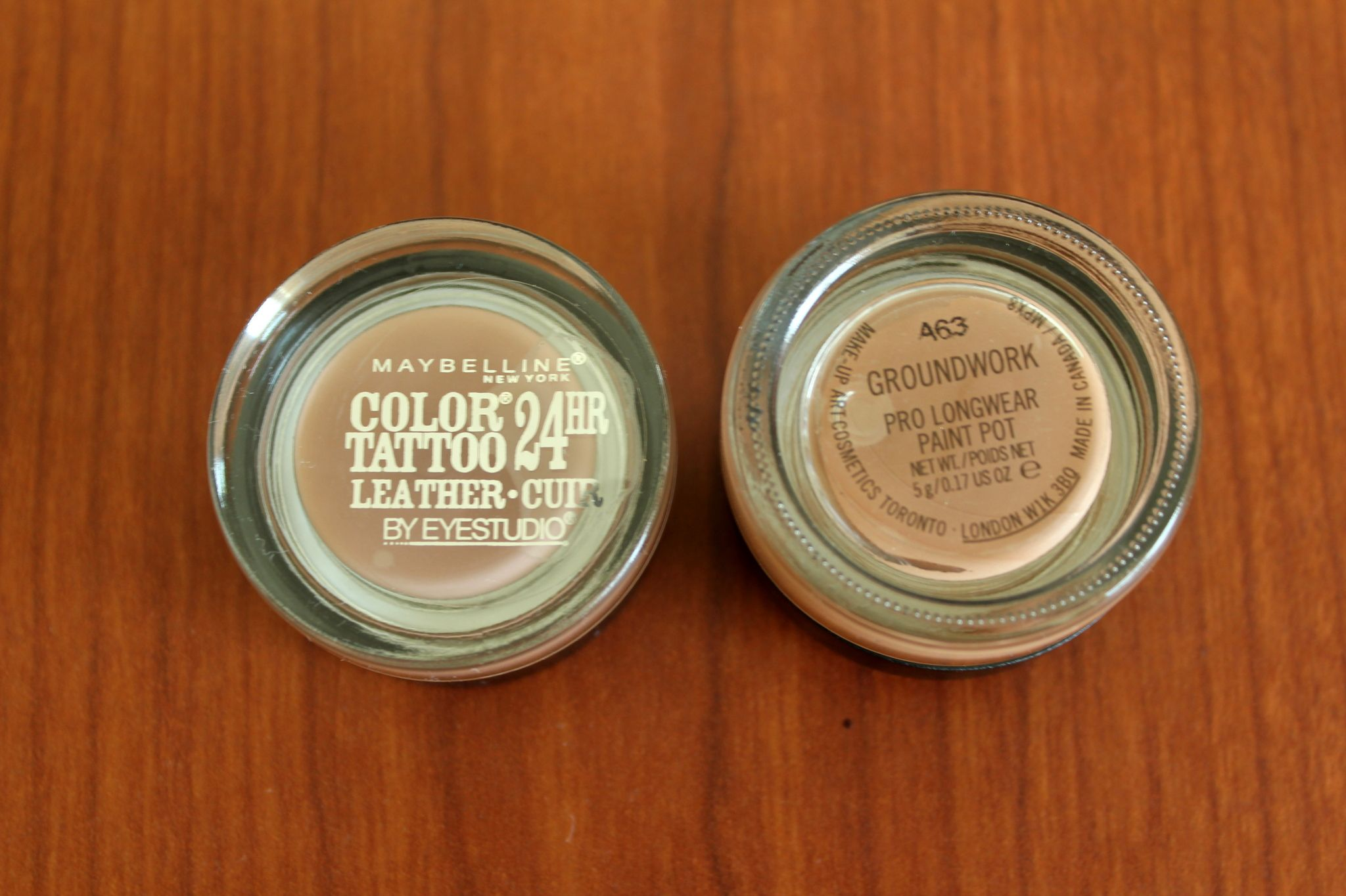 Maybelline color tattoo creamy beige mac paintpot for Mac paint pot groundwork