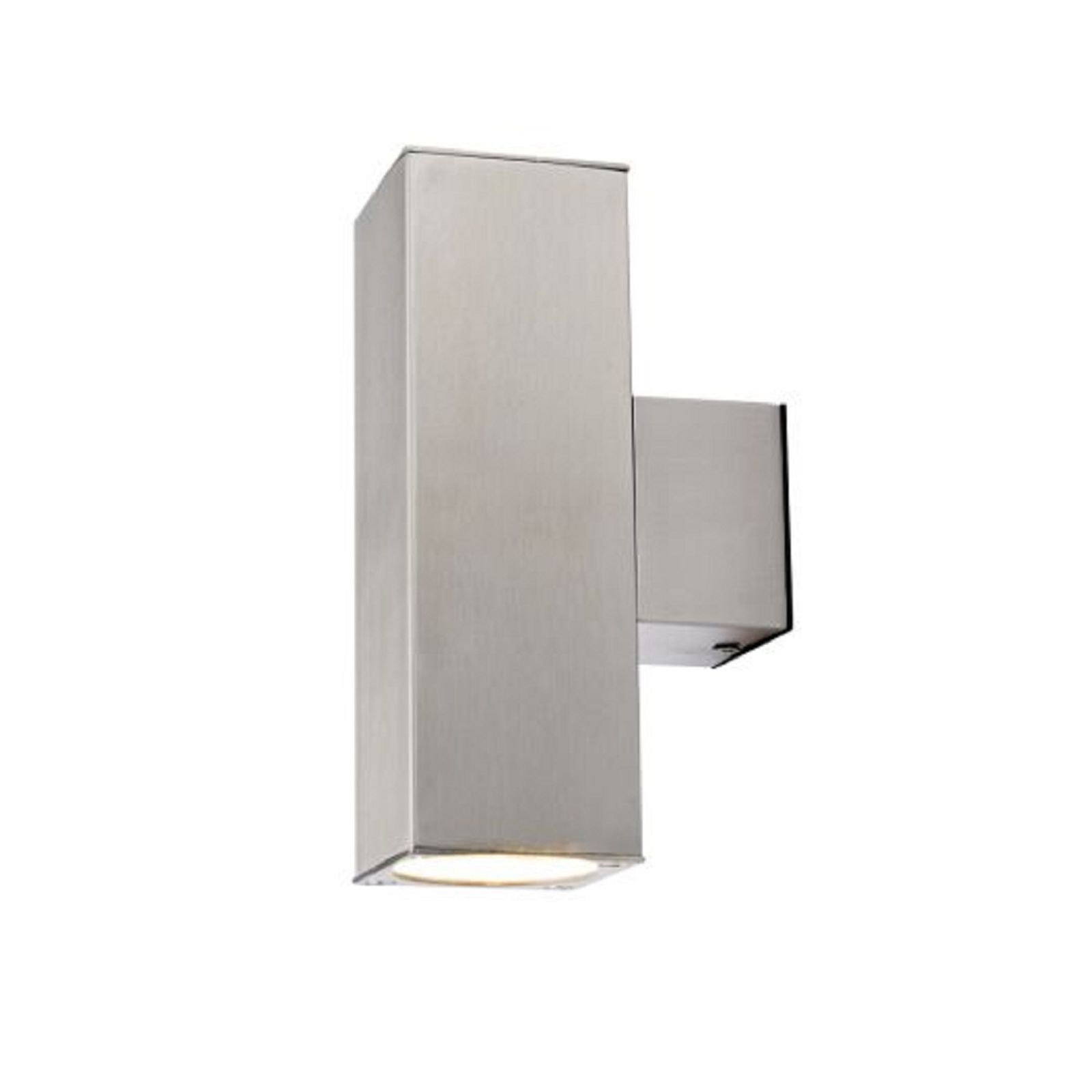 Find ena double silver square wall light at homebase visit your find ena double silver square wall light at homebase visit your local store for the mozeypictures Choice Image