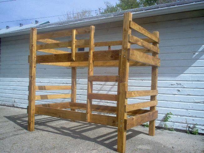 homemade bunk beds - google search …   pinteres…