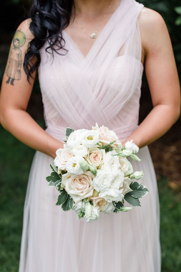 Jenny Yoo Annabelle Dress|{Blush & Ivory} Elegant  St. Paul College Club Wedding|Photographer:  Time Into Pixels Photography