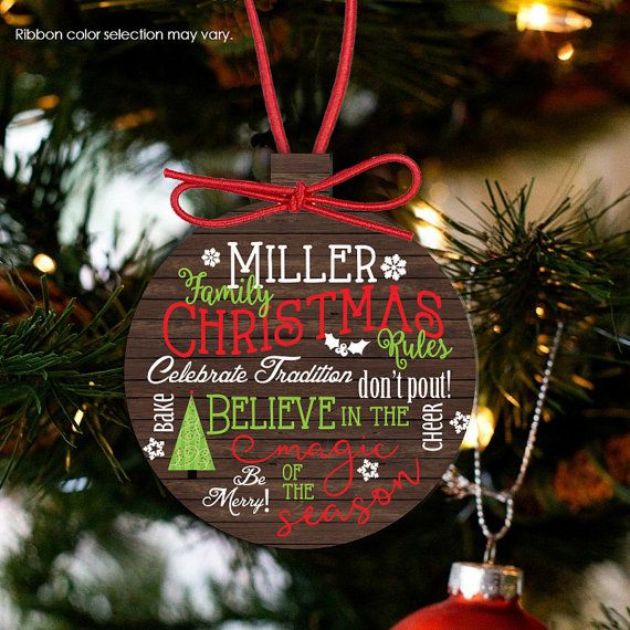 family christmas ornament, yearly ornament, annual family ornament, family  ornament FCO - Family Christmas Ornament, Traditions Ornament, Annual Family