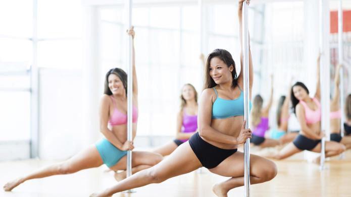 Cardio strip aerobics