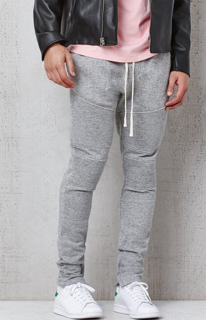 ca842d83fe Drop Skinny Moto Fleece Jogger Pants   JAWNS   Fleece joggers ...