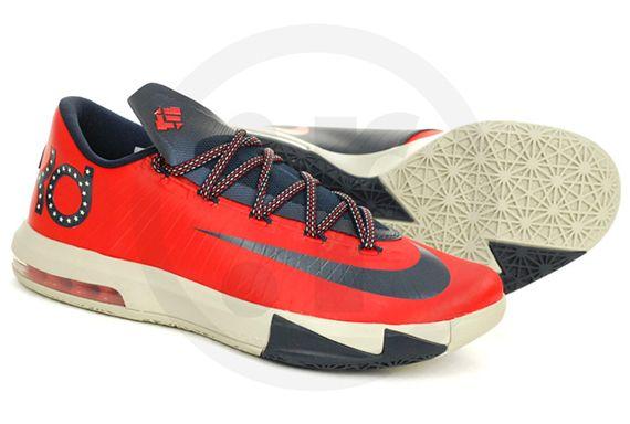 "innovative design f8f98 0aafc Nike KD 6 ""Washington DC"""