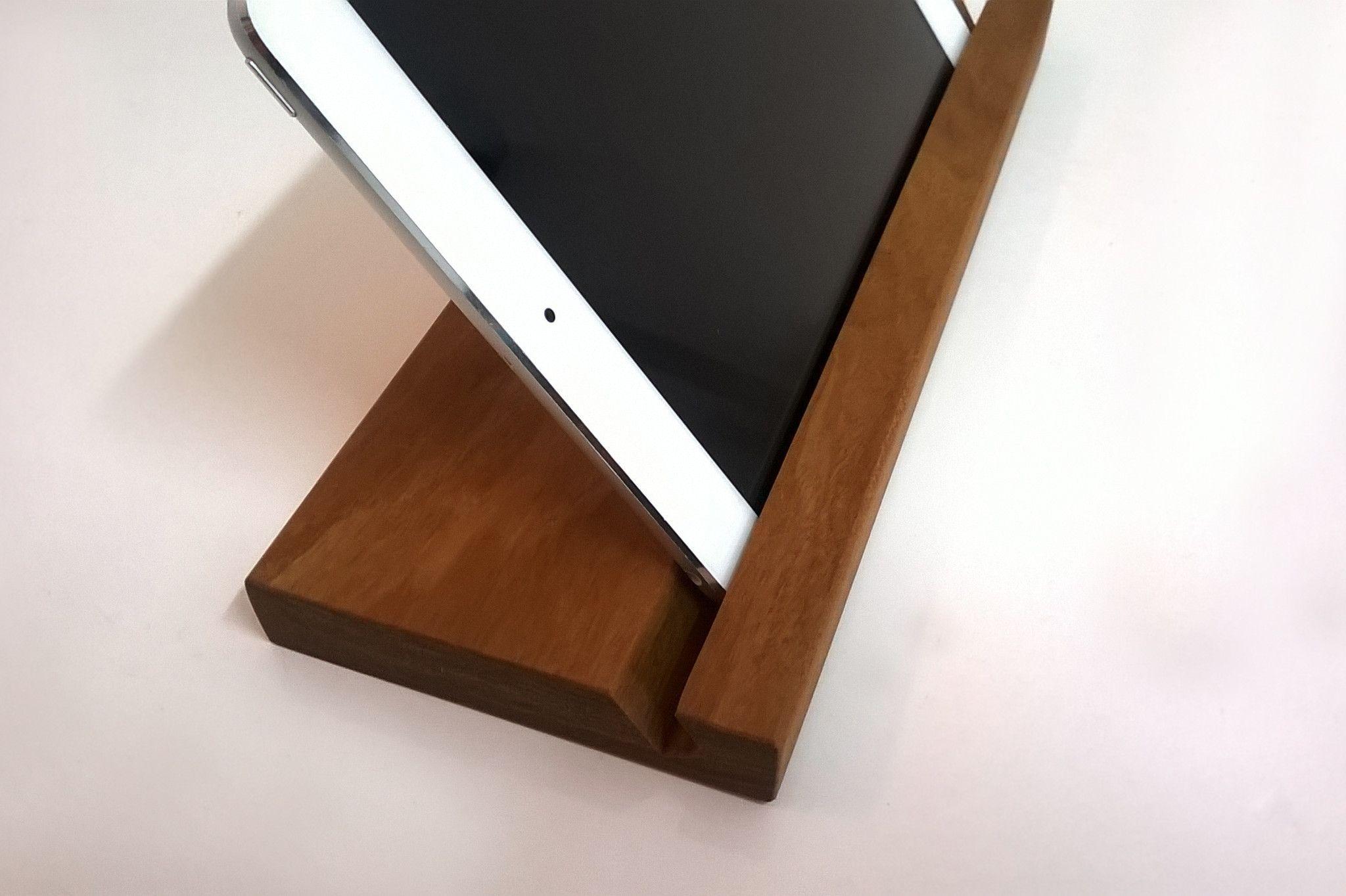 iPad Stand - Nicaraguan Hardwood - Masaya & Co.  - 9
