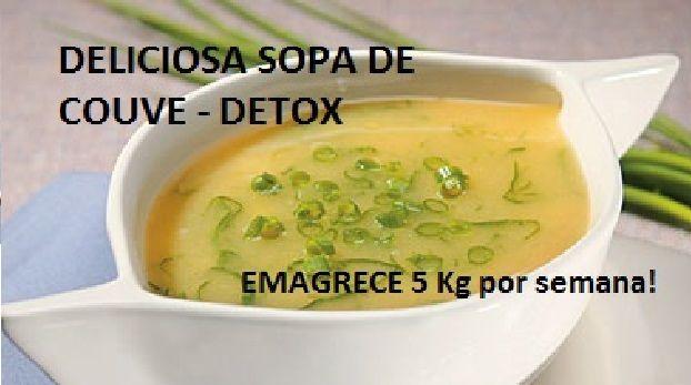 Sopa para perder peso em uma semana
